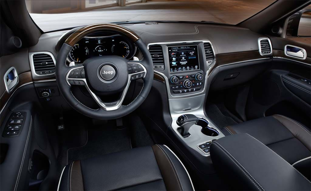 Wonderful The Interior Of The 2014 Jeep Grand Cherokee Underscores Its Evolution Into  A Luxury Vehicle.