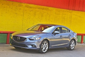 Mazda had to recall about 100,000 2014 and 2015 Mazda6 sedans for a problem with the tire pressure monitoring system.
