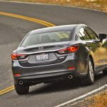 The Mazda6 gets the maker's new 2.5-liter SkyActive gas engine, with a diesel to follow.