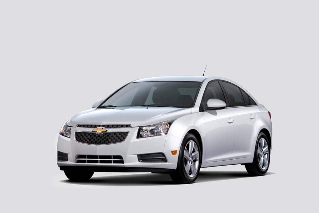 "Defective Takata Airbags Force ""Stop Sale"" on 2013-1014 Chevy Cruze Models"
