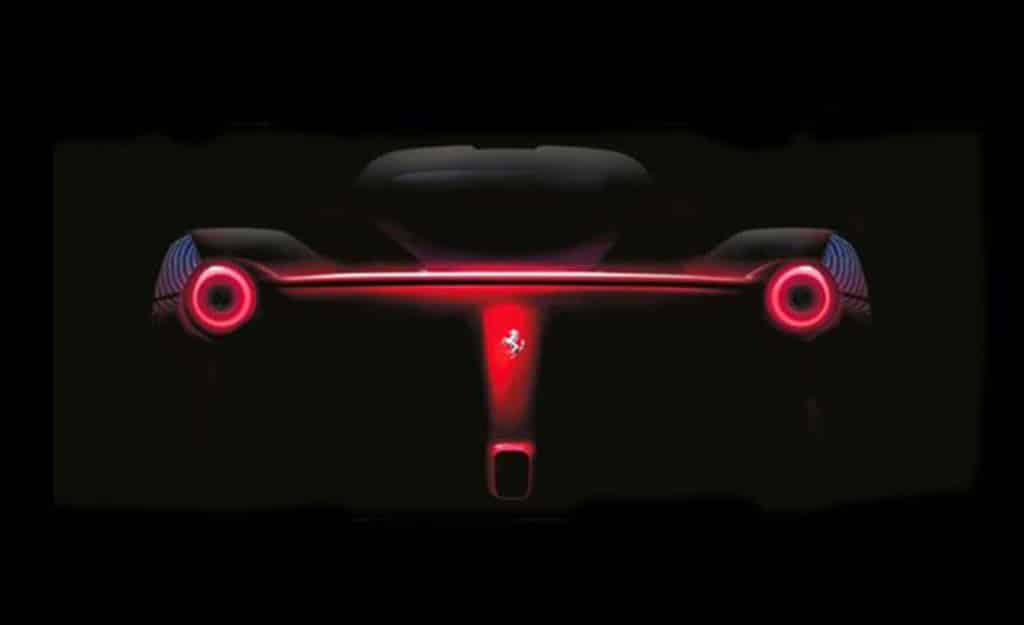 Ferrari Teases Enzo Replacement