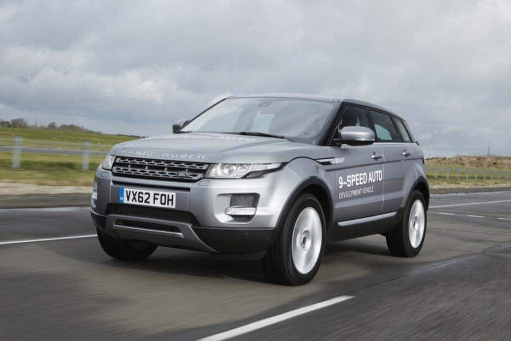 Land Rover Launching World's First 9-Speed Automatic