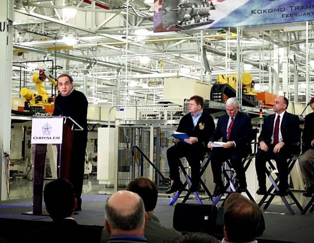 Chrysler Investing Nearly $400 Mil, Creating 1,250 Indiana Jobs