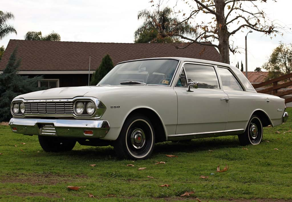 Romney's '64 Rambler on the eBay auction block