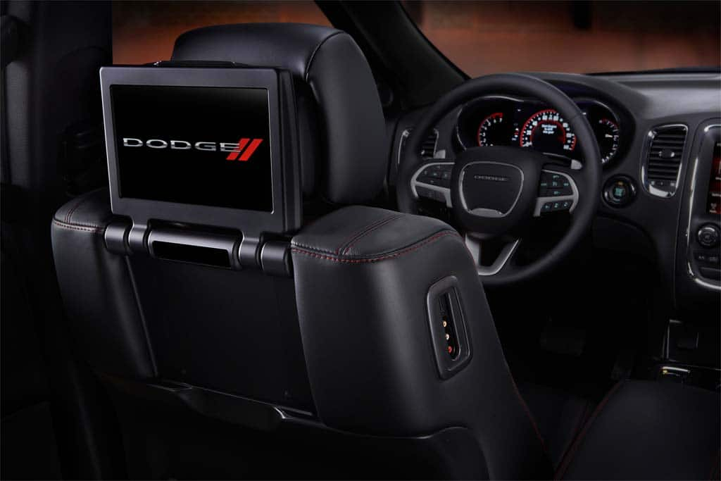 The 2014 Dodge Durango Gets A New IP, Center Stack And Rear Entertainment  System.