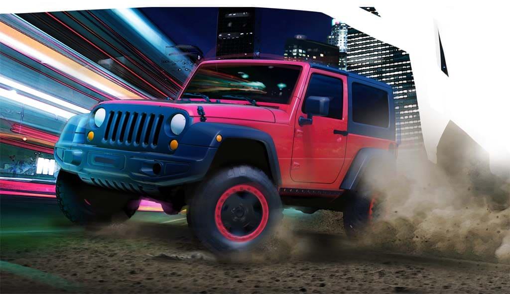 under spring axle jeep yj