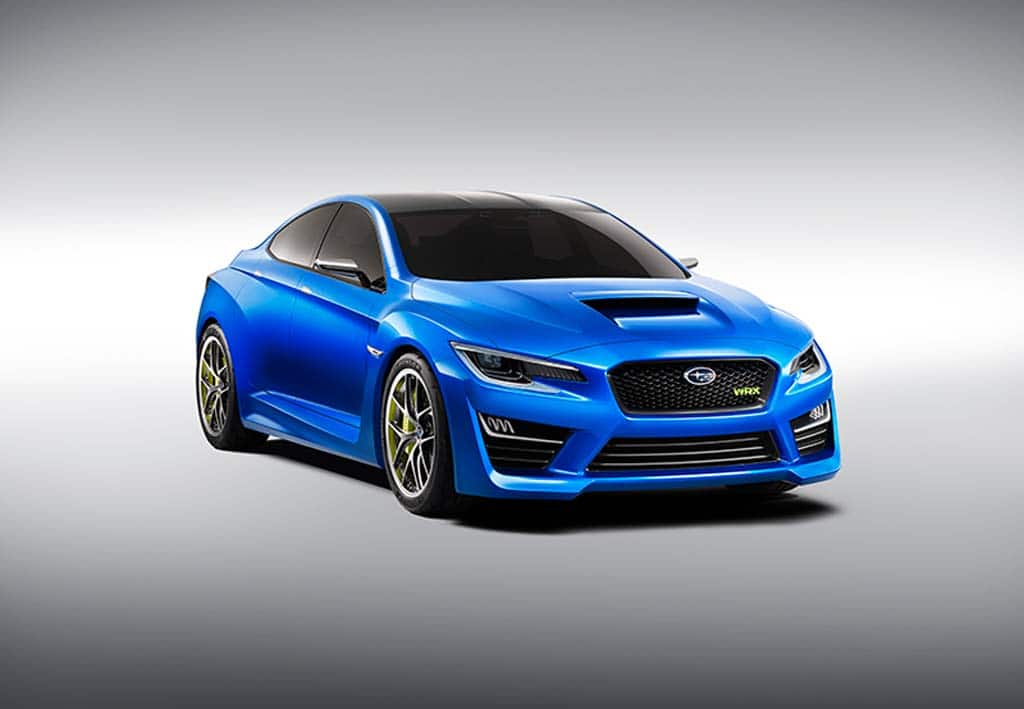 Subaru Delivers Surprise with New WRX Concept
