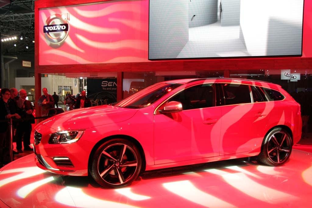 Designing Wagons: Volvo V60 R-Design Debuts in NY