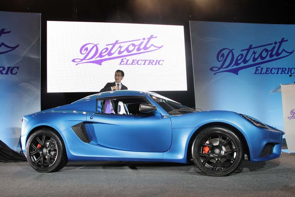 Detroit Electric Abandoning Detroit Production Base for Sports Car