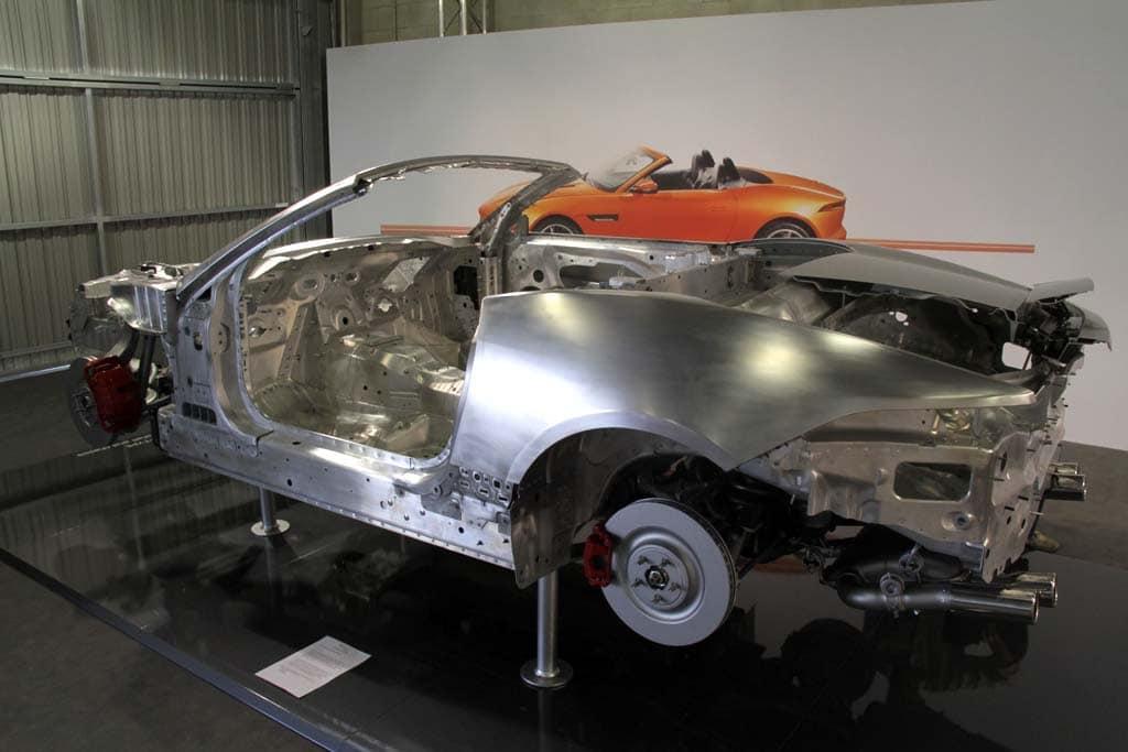 jaguar ftype  cutaway  the detroit bureau