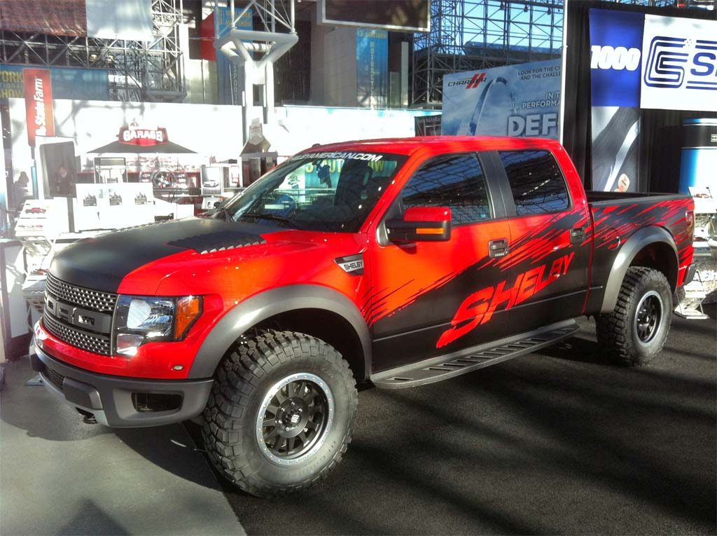Shelby Bulks Up Fords F150 Raptor  TheDetroitBureaucom