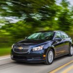 The 2011-2014 Chevy Cruze made CarGurus.com's list of top 10 used cars for college graduates.