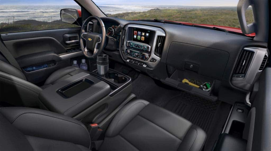 The New Silverado Features A More Comfortable And Well Executed Interior  Than Before.
