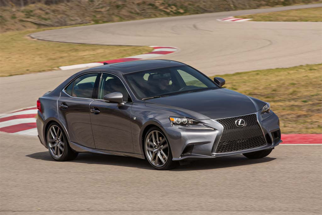 The Current Lexus IS F.