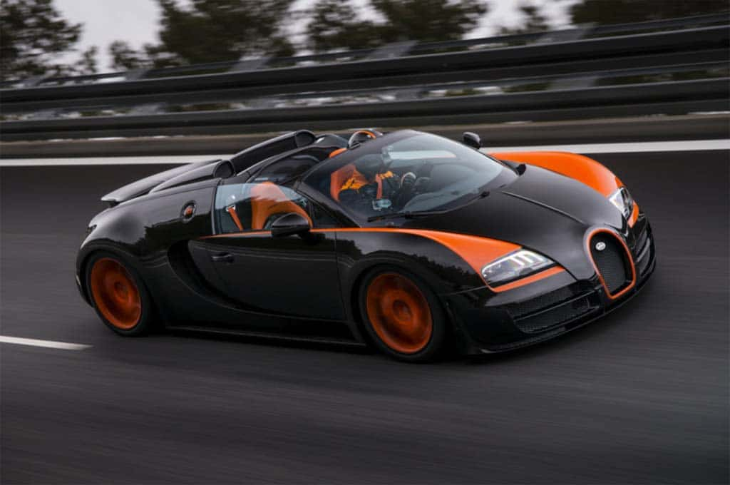 Bugatti Looking to Remain King of Speed