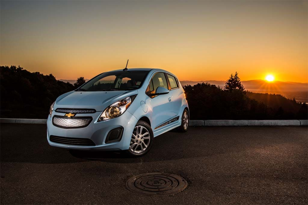 the 2014 chevrolet spark ev is just reaching showrooms in california. Cars Review. Best American Auto & Cars Review