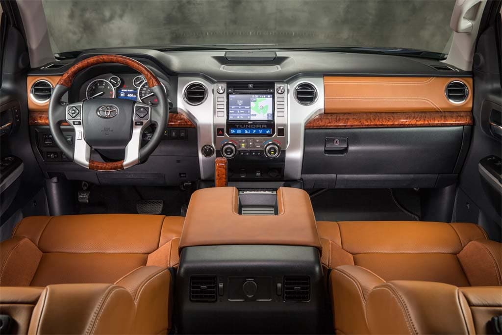 , the biggest changes can be found in the interior of the new Tundra