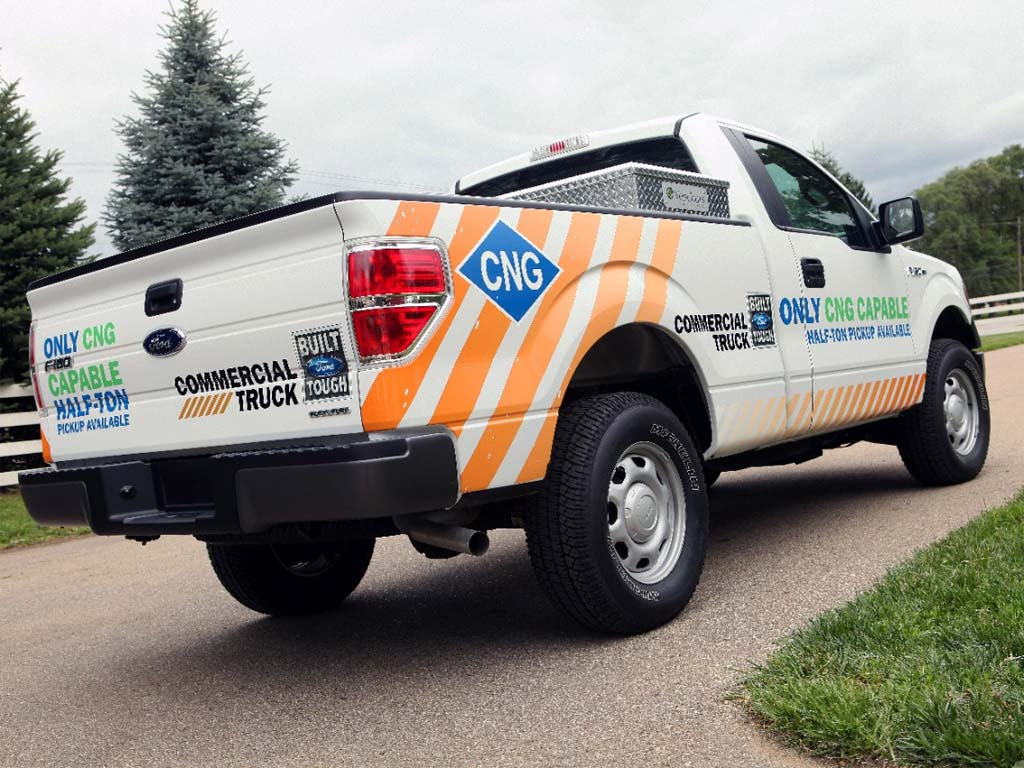 Ford Gases Up with New CNG Models