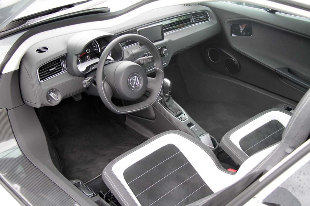 First Drive 261 MPG Volkswagen XL1 VW XL1  interior