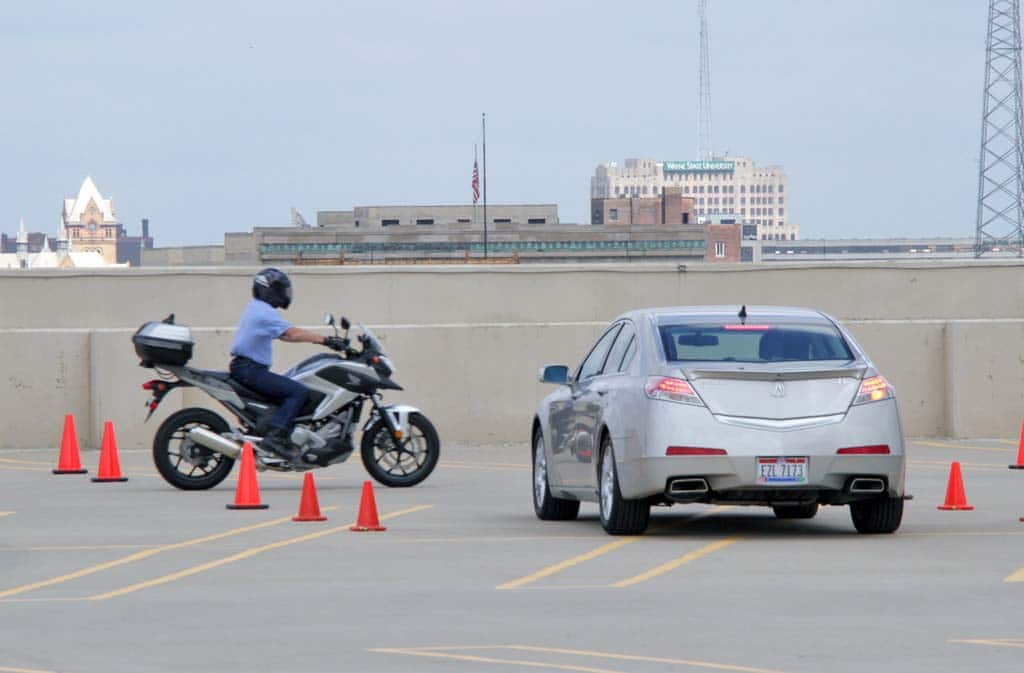 Honda Testing Ways to Reduce Motorcycle, Pedestrian Crash Fatalities