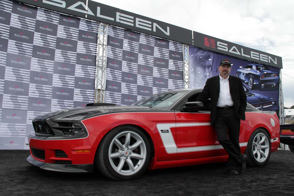 Saleen Launches Tribute Mustang Thedetroitbureau Com