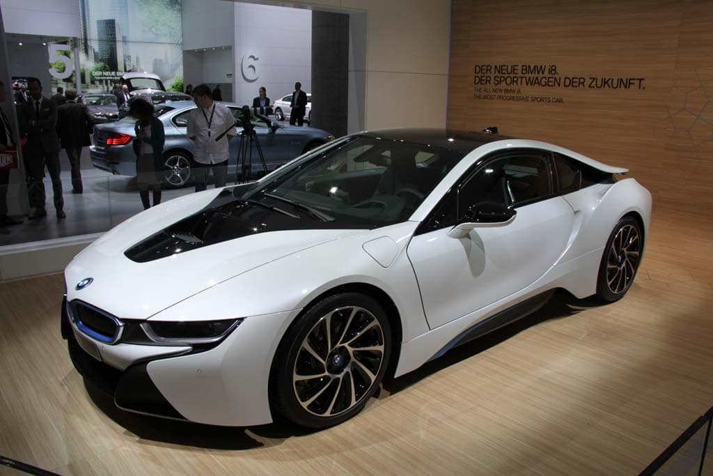 Bmw I8 Plug In Will Carry A Supercar Price Tag Thedetroitbureau Com