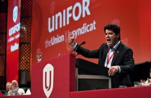 Unifor President Jerry Dias is demanded additional investment in Canada and got from the Detroit Three automakers.