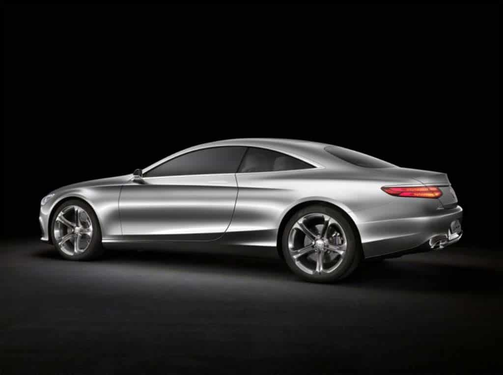 first look mercedes benz s coupe concept. Black Bedroom Furniture Sets. Home Design Ideas