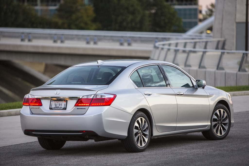 The New Accord Hybrid Gets A 50 Mpg City Rating.