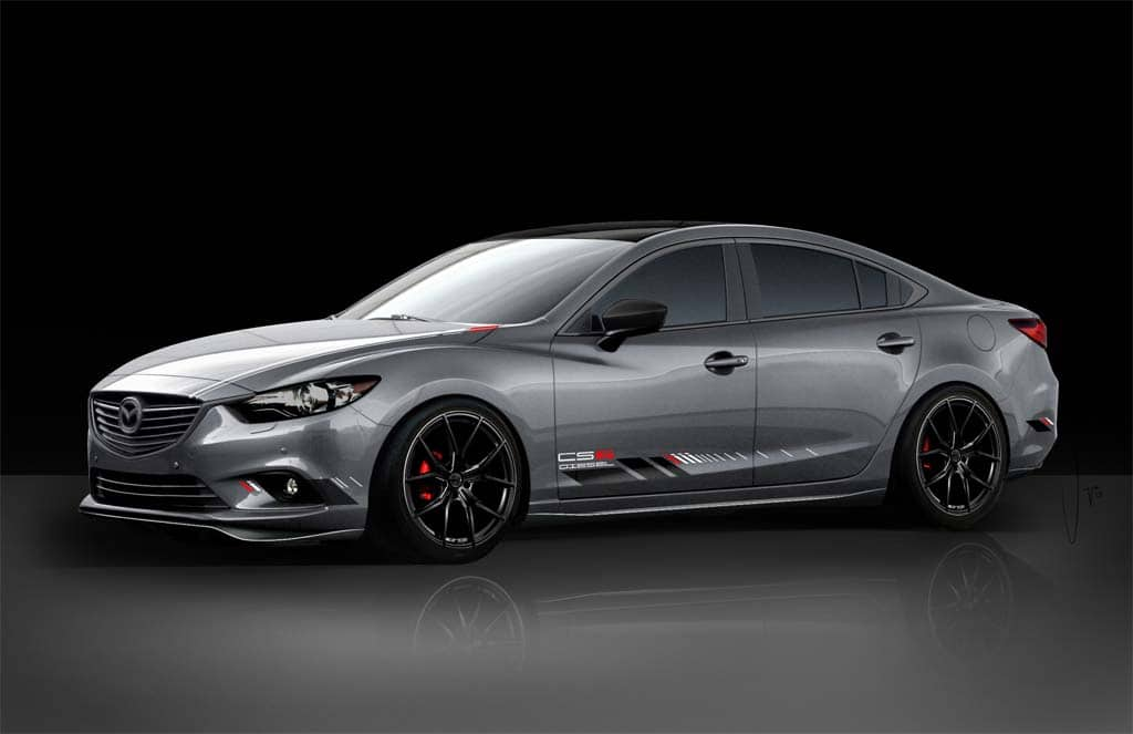The Mazda6 Gets A Diesel Starting Next Spring.