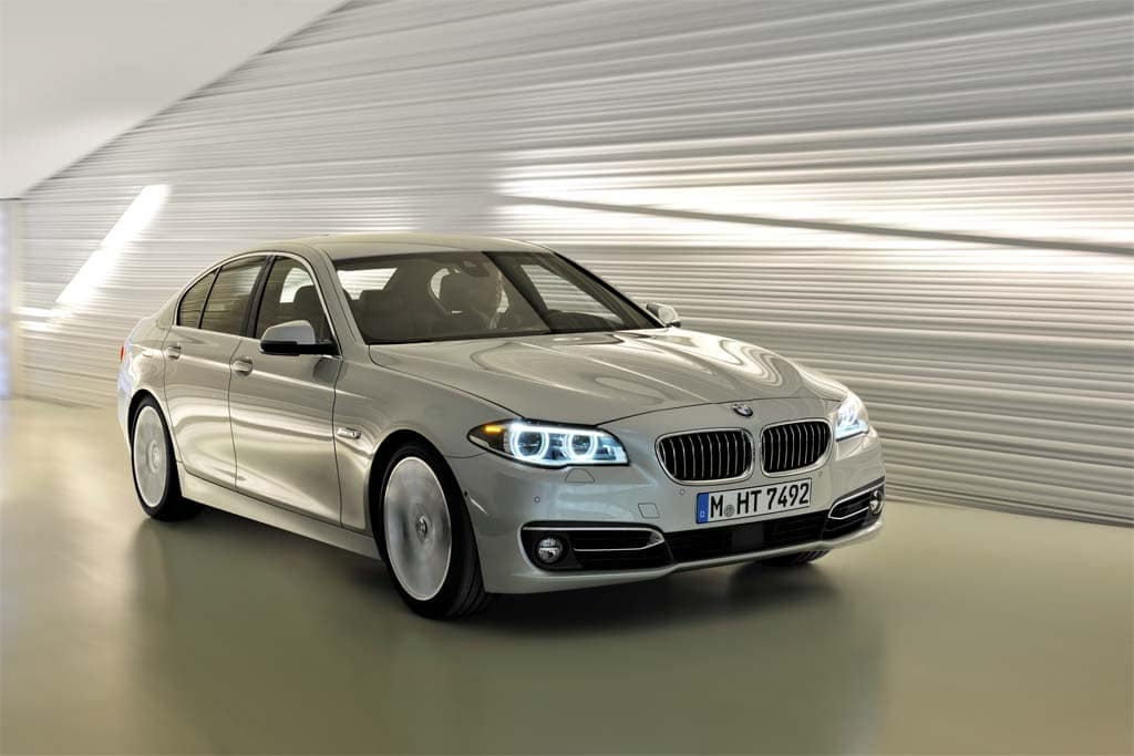 BMW Unveils Updated 5-Series GT and Concept X4 2014 BMW 5-Series ...