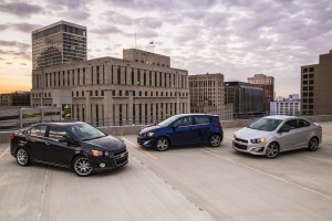 Subcompact cars, like the Chevy Sonic, are the best deals in the used car market place right now.