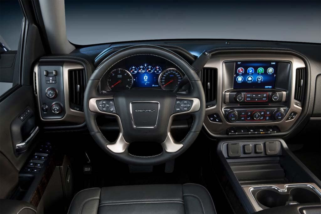 2014 gmc denali rides upscale trend in truck market. Black Bedroom Furniture Sets. Home Design Ideas