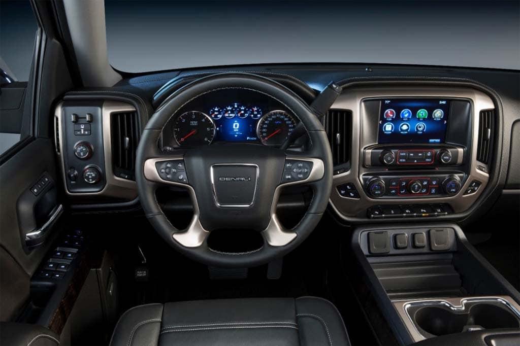 2014 gmc denali rides upscale trend in truck market. Black Bedroom Furniture Sets. Home Design Ideas