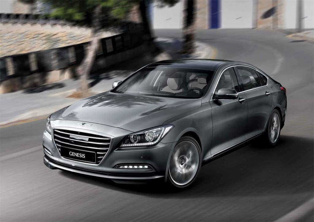 Hyundai Moves Even More Up-Market with Gen-2 Genesis
