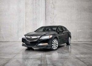 Acura Hybrid on Acura Debuting Rlx Sport Hybrid With Sh Awd In La   Thedetroitbureau