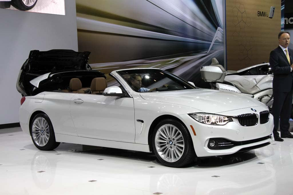 BMW Builds Buzz With New Series Convertible BMW Series - Bmw 4 series hardtop convertible