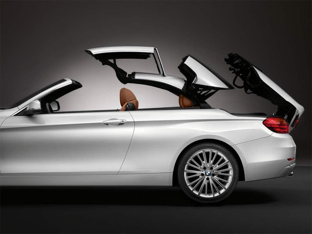 BMW Builds Buzz With New Series Convertible BMW Series - 4 door convertible bmw
