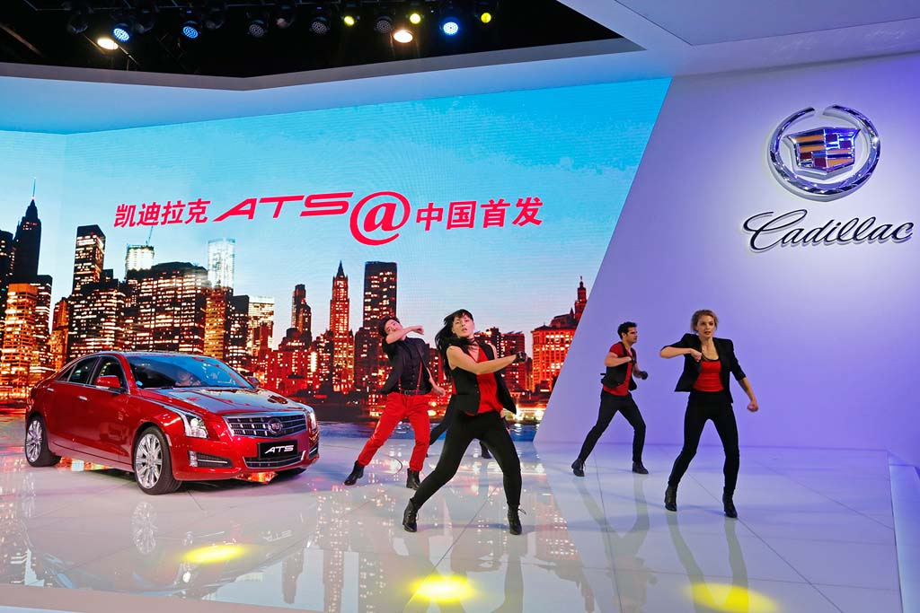 Cadillac ATS Lands in China