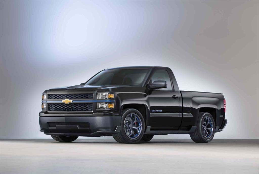 Chevy Takes a Load Off With Silverado Cheyenne Concept