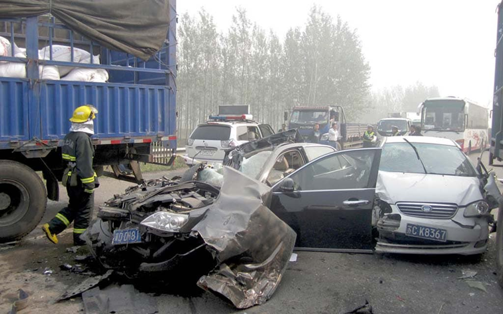 China Highway Deaths Surge to Record Levels