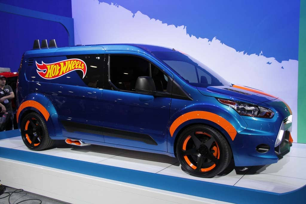 e6dfecf6efd7 Ford s life-size Hot Wheels concept began life as a 2014 Transit Connect van .