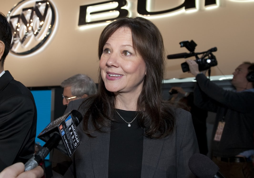 GM's Mary Barra Takes Crown on Most Powerful Women List