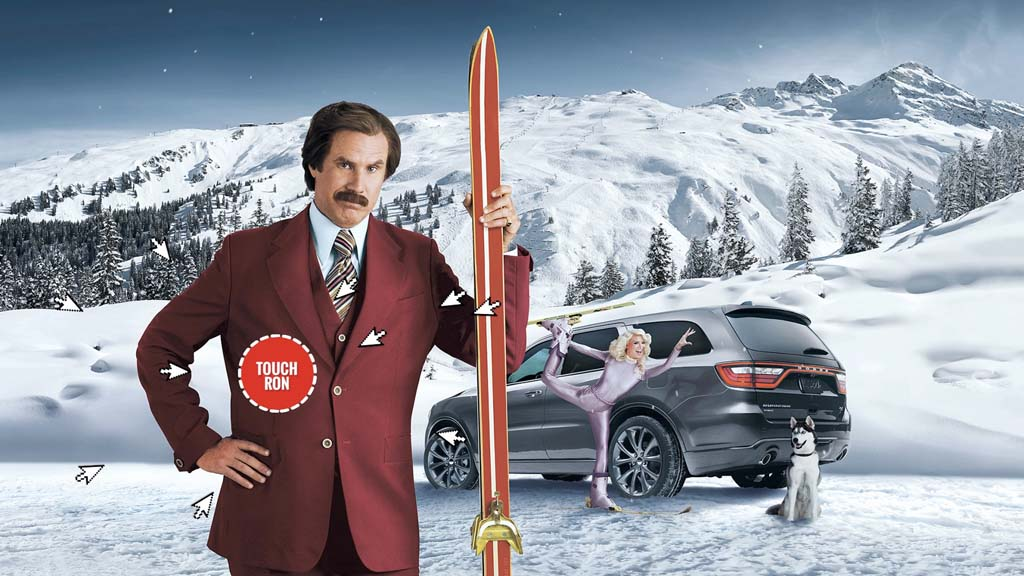 Chrysler ad ron burgundy