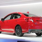 The new WRX is expected to hit dealer showrooms in March.