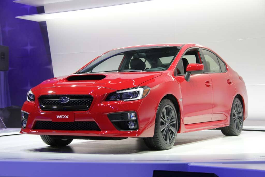 Subaru WRX Drivers Get the Most Speeding Tickets