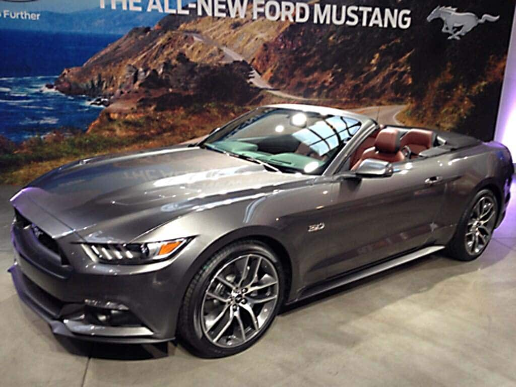 Lee Iacocca Mustang >> Images of 2015 Ford Mustang Convertible Leak Out ...