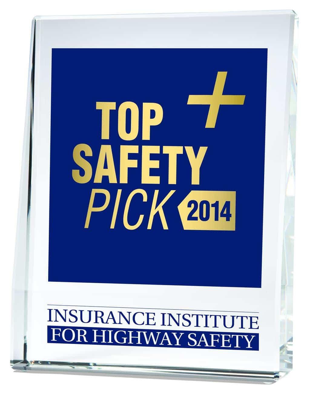 iihs top safety pick award. Black Bedroom Furniture Sets. Home Design Ideas