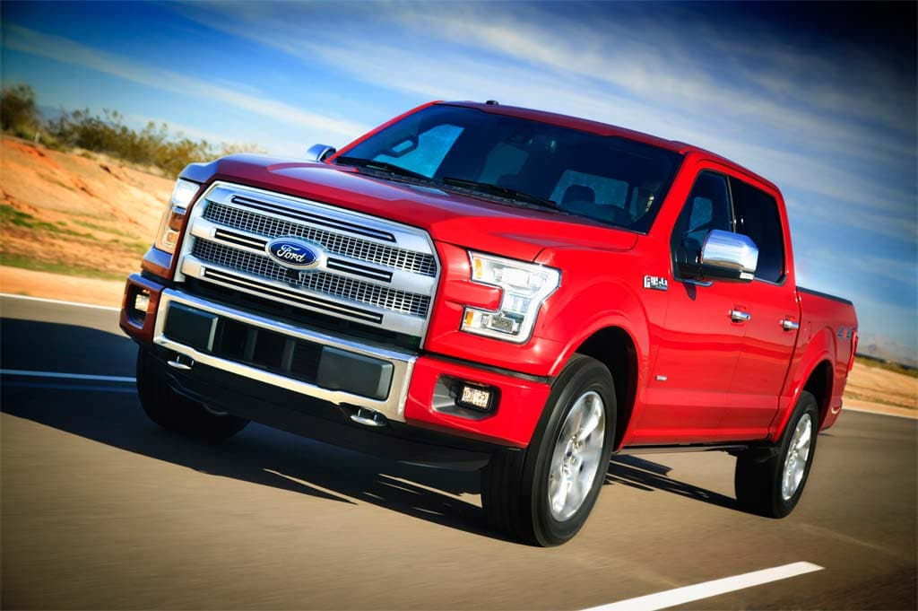 Ford Ready to Prove Aluminum is Built Ford Tough