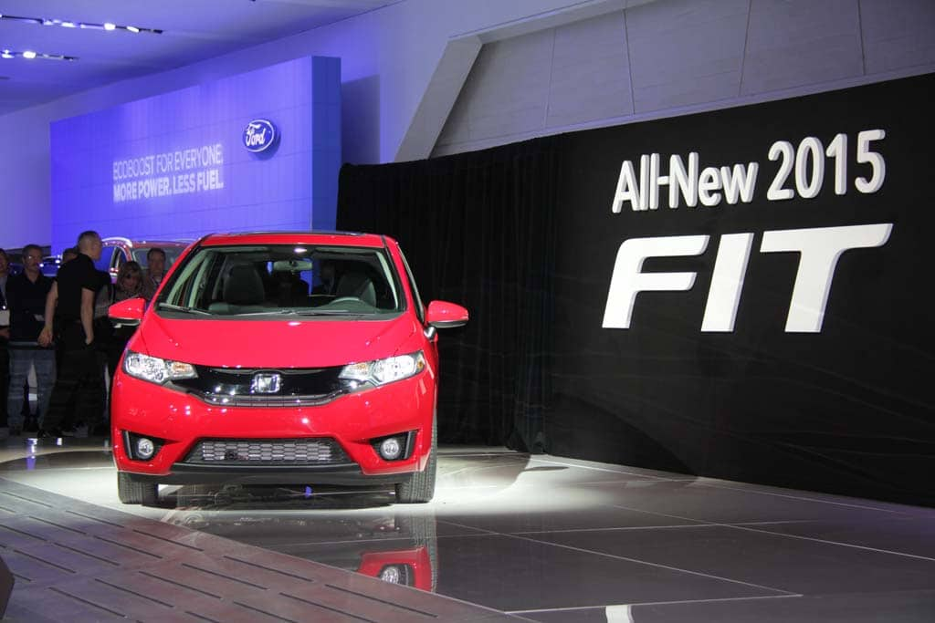 Honda Fit Ting In Among New Sub Compacts 2015 Honda Fit